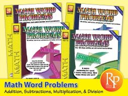 Math Word Problems {Bundle}