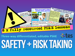 Personal Safety + Risk PSHE