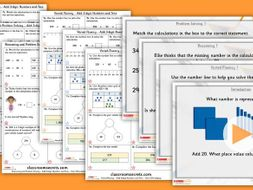Year 3 Add 3-digit Numbers and Tens Autumn Block 2 Step 6 Maths Lesson Pack