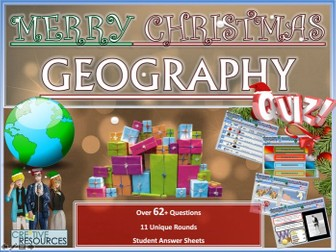 Geography Christmas Quiz