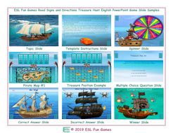 Road-Signs-and-Directions-Treasure-Hunt-Interactive-English-PowerPoint-Game.pptx