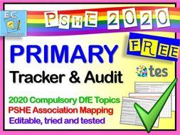 Primary PSHE Planning - Audit Curriculum