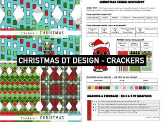 CHRISTMAS DT GRAPHICS | Festive CRACKER Design