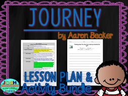 Journey by Aaron Becker Lesson Planner and Activities