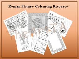 Roman Picture/Colouring Resource Pack