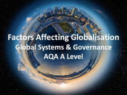 factors influencing globalisation