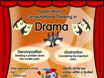 Computational Thinking in Drama