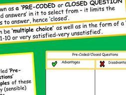 Research Methods (4/7) - Questionnaires (AQA Sociology A-Level / GCSE)
