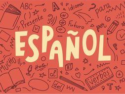 Spanish Task Sheets