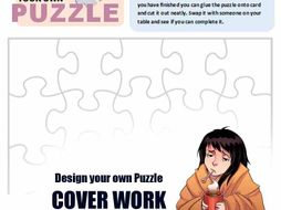 Design your own Puzzle - Cover worksheet