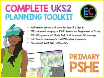 PSHE Planning Primary