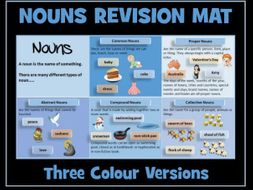 Nouns : Revision Memo Mat