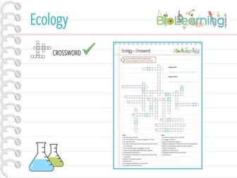 Ecology - Crossword (KS3/KS4)