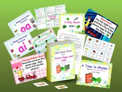 Green Eggs and Ham - literacy activities based on the book