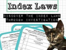 Index Laws Investigation Bundle