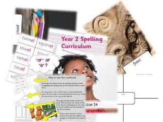 Year 2 Full Spelling Curriculum