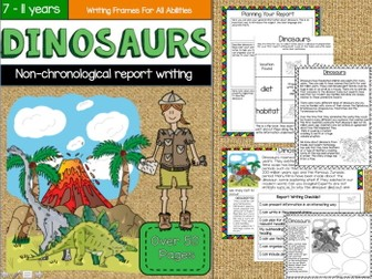 Dinosaurs - Non-chronological Report Writing