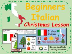 italian lesson and resources ks2 christmas by blossomingminds teaching resources. Black Bedroom Furniture Sets. Home Design Ideas