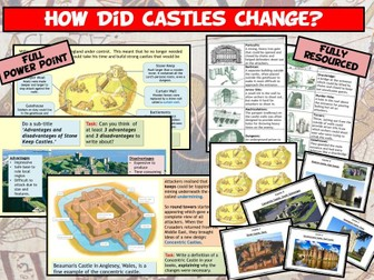 Normans - How Did Castles Change?
