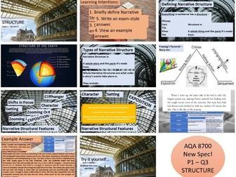 AQA 8700 English Language - Structure Lesson