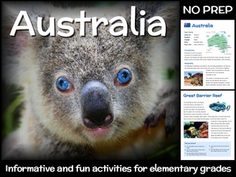 Australia (country study for elementary grades)