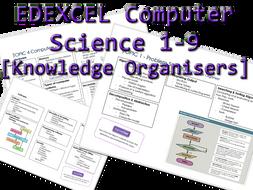 Edexcel Computer Science 1-9 Knowledge Organisers