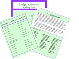 Bridge to Terabithia add ons  by WeTeachWell | Teaching Resources