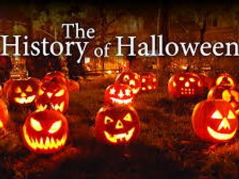 HALLOWEEN SPECIAL- The History of Halloween- KS3