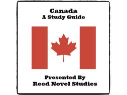 Canada - A Study Guide * (By Reed Novel Studies)