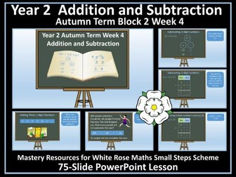 Addition and Subtraction: Year 2 - Autumn Term -PowerPoint Lesson - White Rose Maths