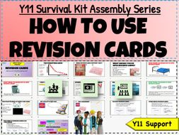 Y11 Survival Kit -Revision Cards