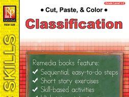Classification: Cut, Paste, & Color