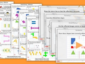 Year 5  Reflection Summer Block 3 Step 2 Lesson Pack