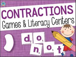 Contractions Games & Activities