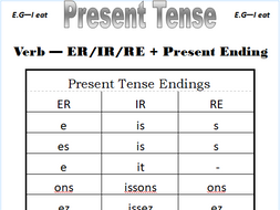 French Tenses Booklet