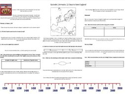 BBC - Armada: 12 Days to Save England - Episode 2 - Worksheet to support the BBC Documentary