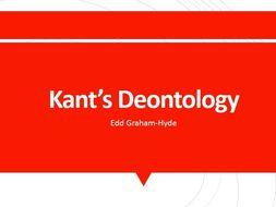 Kant's Deontology