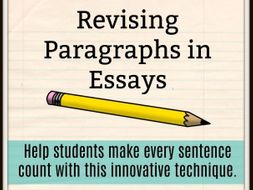 revising paragraphs in essays by lauratorresela   teaching resources  revising paragraphs in essays by lauratorresela   teaching resources   tes