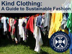 Kind Clothing: Sustainable Fashion