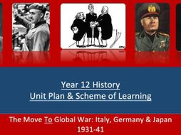 IB P1 Unit Plan The Move to Global War