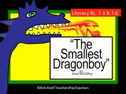 The Smallest Dragonboy by Anne McCaffery