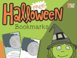 Free Halloween Mini Bookmarks