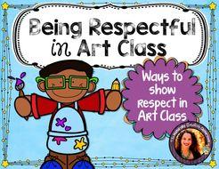 Being Respectful in Art Class