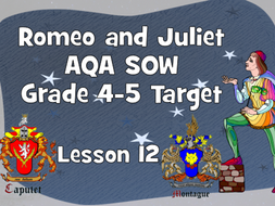 The Proposal - Lesson 12 (Romeo and Juliet)