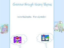 Grammar through Nursery Rhymes - noun, verb, adjective & preposition