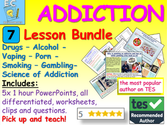Addiction: Drugs, Alcohol, more!