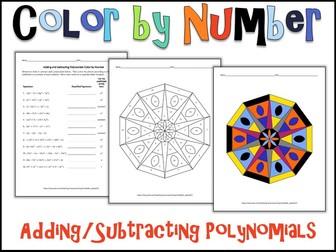 color by number bundle 1 10 algebra skills by charlotte james615 teaching resources tes. Black Bedroom Furniture Sets. Home Design Ideas