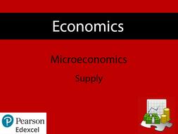 Economics: Supply Powerpoint (NEW SPEC) - Edexcel