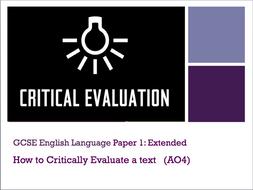 GCSE English AQA 9-1 Paper 1 Question 4 revision