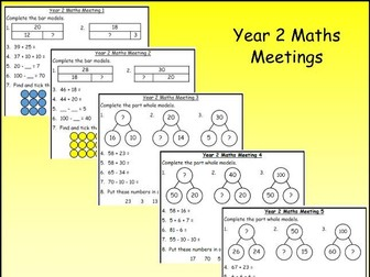 Year 2 Maths Meetings